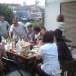 バイリンガルセンターのバーベキューパーティーです。