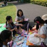 バイリンガルセンターのピクニックです。
